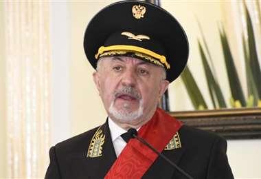 El embajador Sprinchan reveló el precio de la vacuna rusa (Foto: Cancillería)