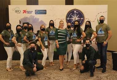 El equipo de Human Value. Foto: Juan Carlos Torrejón