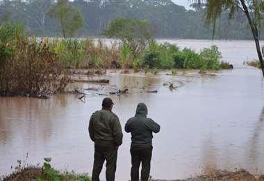 Se espera fuertes precipitaciones en la capital cruceña
