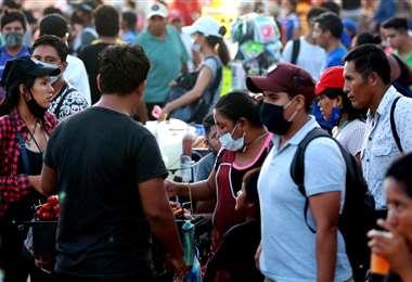 46 personas se han contagiado del Covid-19 en Santa Cruz. Foto Fuad Landívar