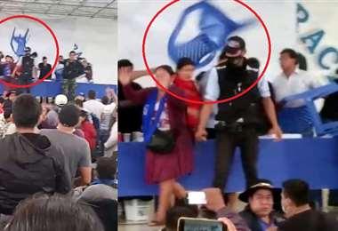 El video que circula en redes expone que el líder del MAS fue atacado por sus seguidores