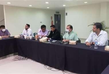 El Gobierno se reunión con productores/Foto: MDPYEP
