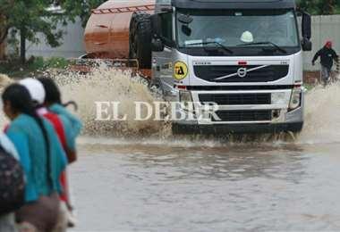 Lluvia en Santa Cruz de la Sierra/Foto: Juan Carlos Torrejón