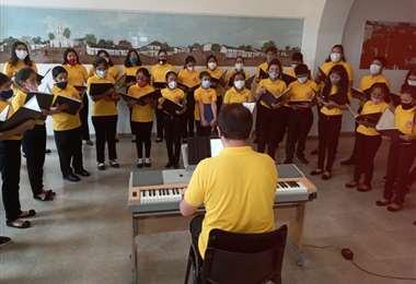 "Coral Infantil Municipal ""Voces del Cielo""/Foto: Alcaldía"