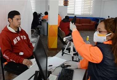 Emisión de cédula de identidad en el Segip/Foto: Segip