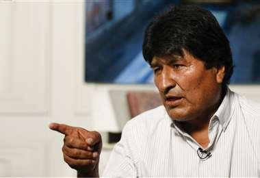 Morales atacó a la Iglesia este sábado