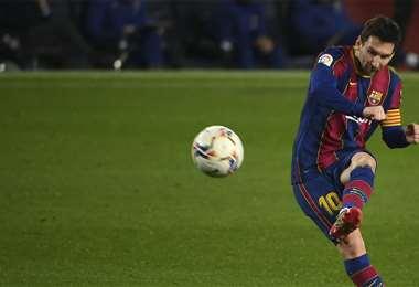 Messi quiere dejar el Barcelona en enero. Foto: AFP
