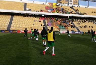 Oriente jugó la pasada fecha en La Paz. Foto: APG