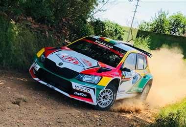 Marquito Bulacia se llevó la victoria del Rally Santa Cruz en 2019.