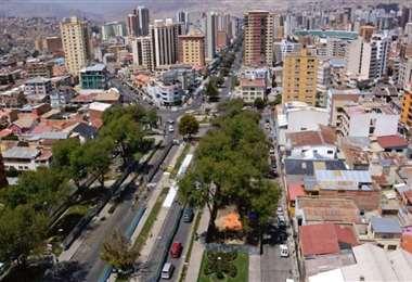 La zona de Miraflores I internet.