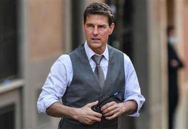 Tom Cruise se encuentra filmando la séptima parte de Misión Imposible