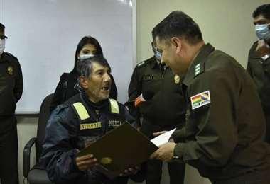 La Policía inició una campaña para mejorar la calidad de vida de Arancibia