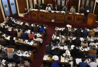 El proyecto de Ley fue aprobado a las 04:15 de la madrugada (Foto: APG Noticias)