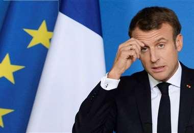 Macron se añade a la lista de jefes de Estado que se contagiaron con el Covid-19
