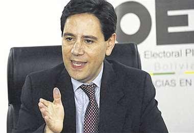 Salvador Romero, titular del TSE