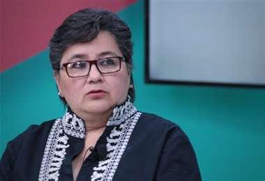 La ministra de Trabajo I Bolivia Tv.
