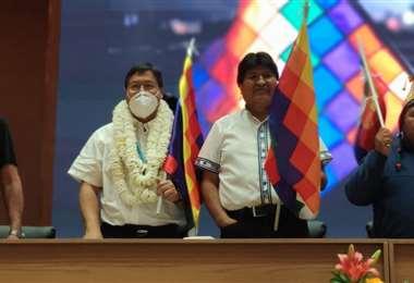 Arce y Morales en Cochabamba I redes.