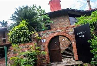 Este es el ingreso principal a la Casa Verde donde se llevará a cabo CasaCor Bolivia 2021