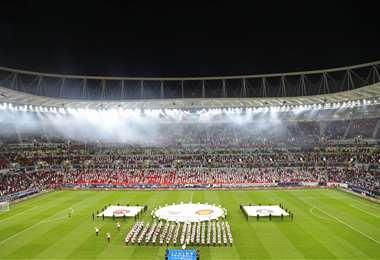 El nuevo estadio tiene capacidad para 40.000 espectadores. Foto: AFP