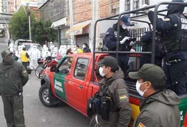 Los controles en La Paz I AMN.