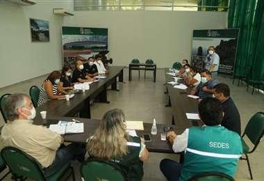 Santa cruz denuncia un déficit de recursos humanos en hospitales. Foto. Gobernación