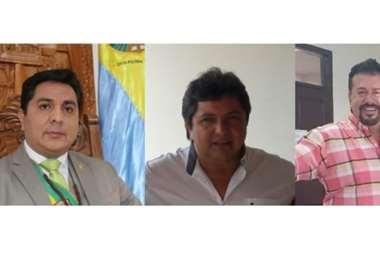Salces, Dorado y Zarzar son tres de los cuatros candidatos a la Alcaldía de San Ignacio