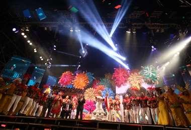 La coronación de la reina del Carnaval será virtual en un gran escenario /Fuad Landívar