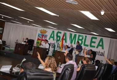 Asamblea Legislativa Departamental de Santa Cruz/Foto: ALD