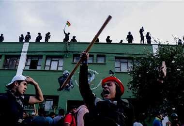El motín policial de 2019 se inició en Cochabamba.