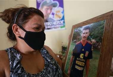 Eduarda Salvatierra siente indignación por la falta de justicia. Foto: Jorge Ibáñez