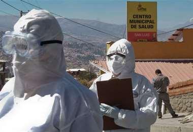 Los cuidados en Miraflores. Archivo