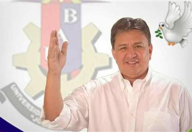 Luis Carlos Zambrana, rector de la Universidad de Beni. Foto. Internet