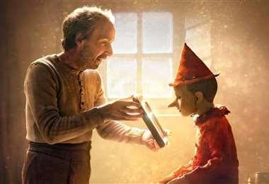 Escena de la reciente película Pinocho que ha sido criticada por no mostrar la verdad
