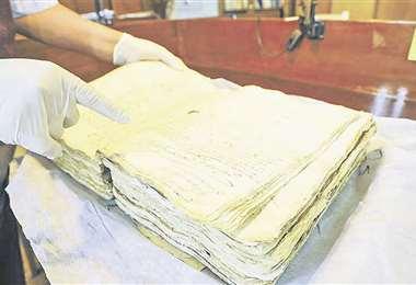 Algunos documentos coloniales