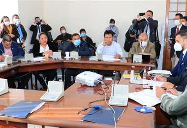 El ministro ante una comisión legislativa I Gobierno.