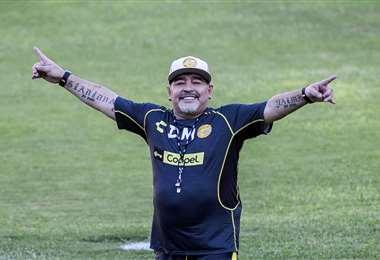 Maradona falleció el pasado 25 de noviembre. Foto: AFP