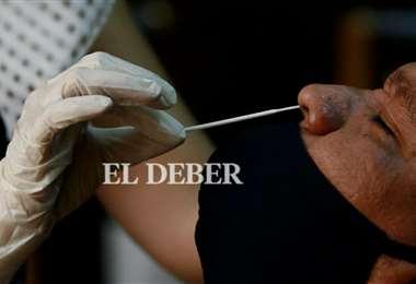 Este domingo solo se realizaron 76 pruebas PCR. Foto: Ricardo Montero
