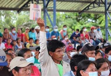 Estuvieron los miembros nominados de los cinco pueblos indígenas que integran el TIM