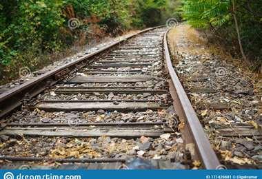 En Tarija, tren arrolló a una persona