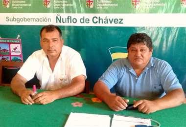 José Vargas y Elías Johns/Foto: Jorge Huanca