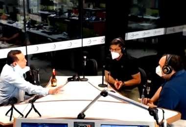 Adett Zamora fue entrevistado en el programa Influyentes, de EL DEBER Radio