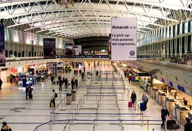 El Aeropuerto Internacional Ministro Pistarini (Ezeiza)