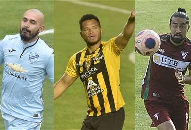 Riquelme, Blackburn y Ramallo son jugadores importantes en sus equipos. Foto: APG Noticias