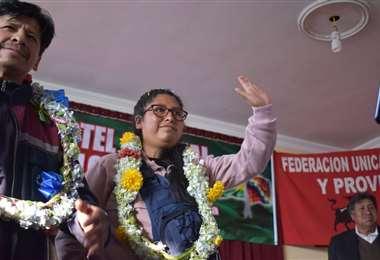 La expresidenta del Senado, ya entregó sus papeles para ser inscrita (Foto: RRSS)