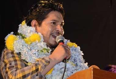 UN presentó a su candidato en El Alto (Foto: UN)