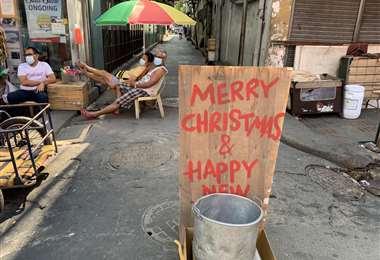 La Navidad será diferente este año. Foto AFP