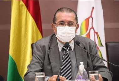 El ministro de Salud refirió que están trabajando para inmunizar a la población