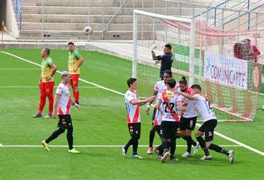 El festejo de Always Ready tras el gol de Ovejero. Foto: APG