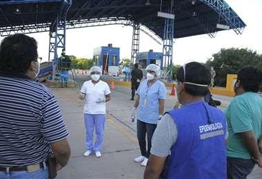 El Comité Operativo de Emergencia Municipal de Villa Montes evalúa daños