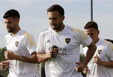 Último entrenamiento de Boca Juniors. Foto: @BocaJrsOficial